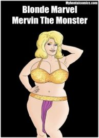 Cover Blonde Marvel – Mervin The Monster