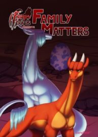 Cover Frisky Ferals – Family Matters
