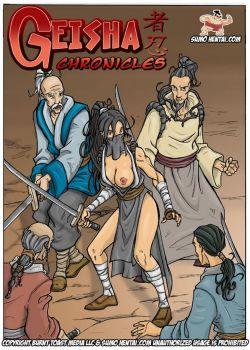 Cover Geisha Chronicles 1