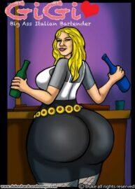 Cover Gigi – Big Ass Italian Bartender 1