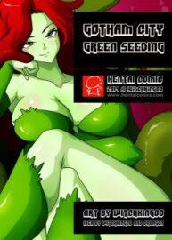Cover Gotham City 1 – Green Seeding