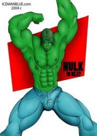 Cover Hulk In Heat