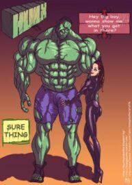 Cover Hulk VS Black Widow